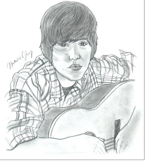 Justin Bieber por Nataliee.